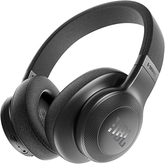 b59901382c0 Amazon.com: JBL E55BT Over-Ear Wireless Headphones Black: Electronics