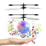 Flying Ball,Children Flying Toys, RC Drone Helicopter Ball Built-in Shinning LED Lighting for Kids, Teenagers - RC Toy for Children-VENAS