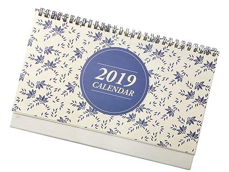 Calendario Progressivo 2020.Calendari Da Tavolo Ottobre 2018 In Dicembre 2019 10 X6 8 Mensile Pagine Mensile Planner Forma Memorandum
