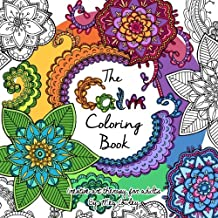 The Calm Coloring Book Creative Art Therapy For Adults Books Grownups