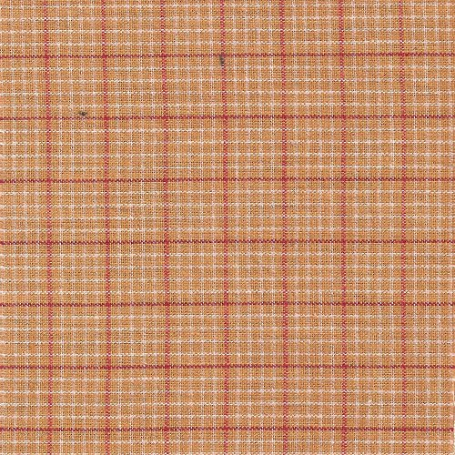 Curtain Bed Plaid (Patch Magic Golden Red Plaid Bed Curtain, 40-Inch by 80-Inch Panel, 8-Inch Loop)