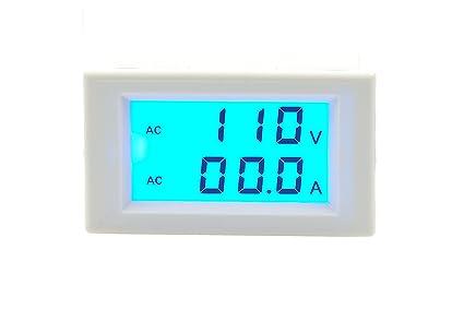 LM YN Digital Dual Diplay AC Voltmeter Ammeter AC 80-300V 0