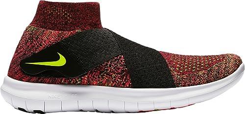 Nike Free RN Motion Flyknit 2017 SchwarzRacer PinkWeiß