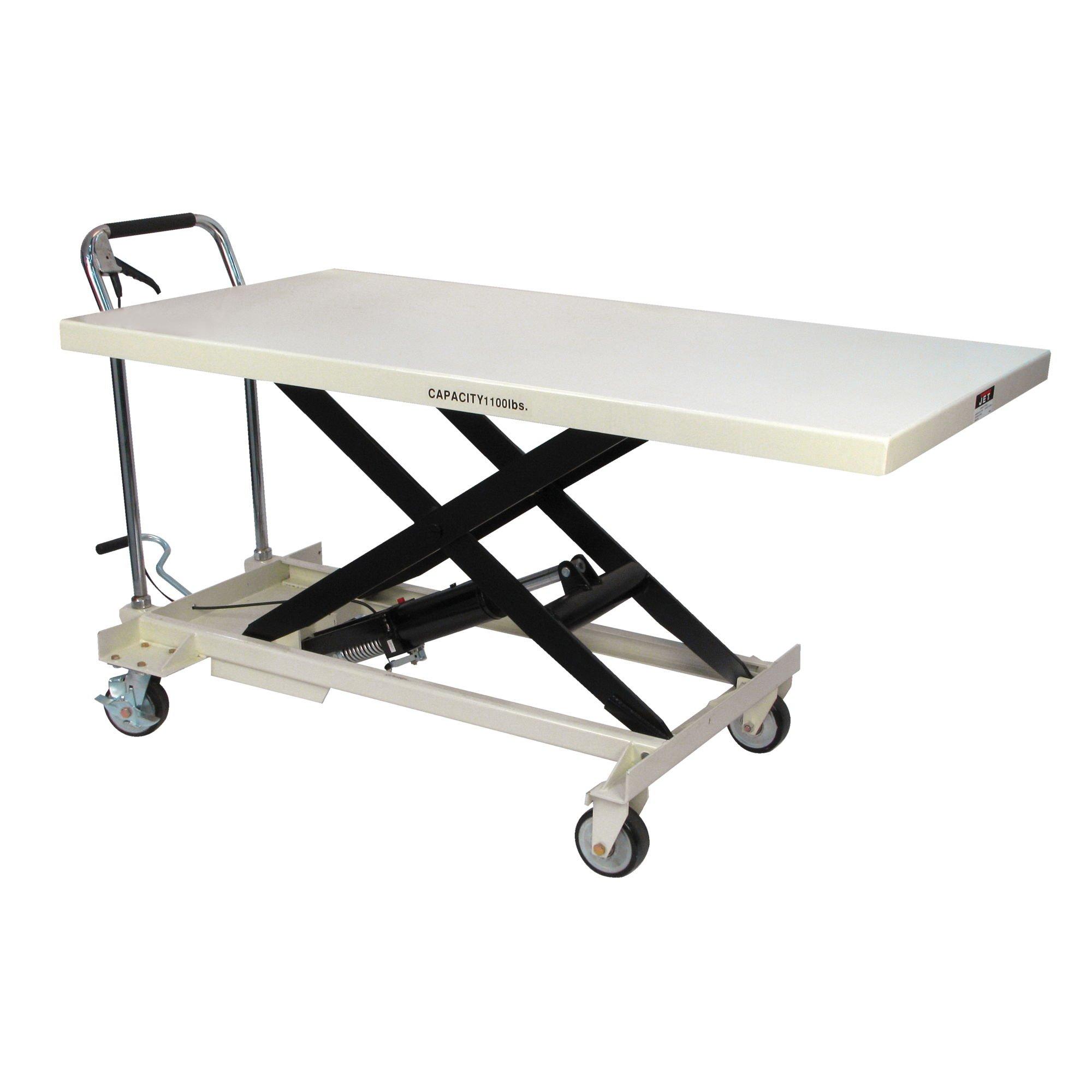 JET SLT-1100 Jumbo Scissor Lift Table