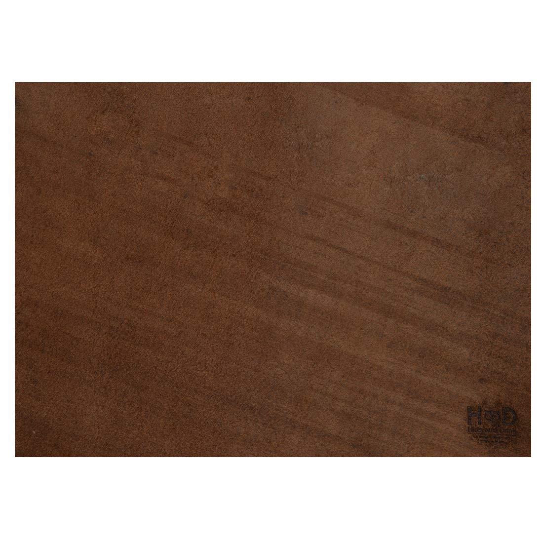 Heavy Weight by Hide /& Drink :: Bourbon Brown 3.5mm 10x18 Thick Leather Square for Crafts//Tooling//Hobby Workshop