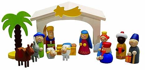Weihnachten Krippe Bilder.Weihnachtskrippe Spielkrippe Weihnachten Krippe Drei Könige By Forchtenberger Puzzle Spiele