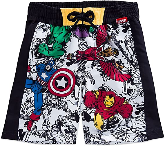 Marvel Avengers Age of Ultron Big Boys Swim Trunks Bathing Suit