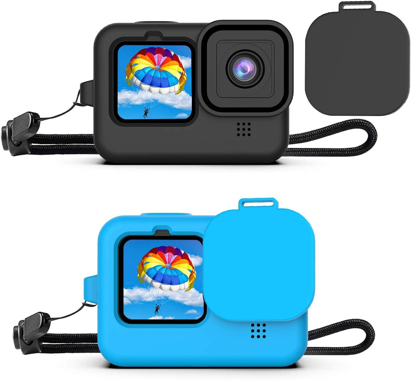 2 fundas de silicona para GoPro Hero 9 Black