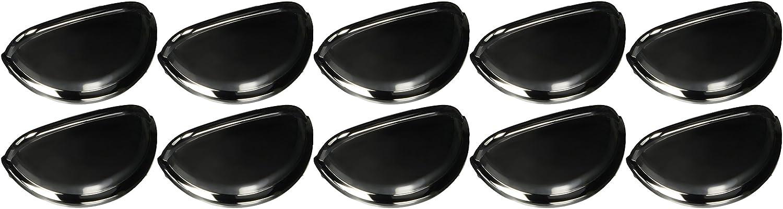 Amerock Allison BP-53010-26-10PK Cabinet Bin Pull, Polished Chrome, 10 Pack
