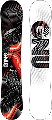 Gnu Asym Carbon Credit Snowboard Mens