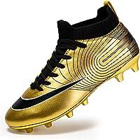 Men's High-top voetbalschoenen Boy's Soccer Atletiek Schoenen Spikes FG/AG Trainers Professionele Sneakers training…