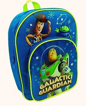 Disney Toy Story - Woody y pandillas niño Mochila con bolsillo delantero/ Mochila azul: Amazon.es: Hogar