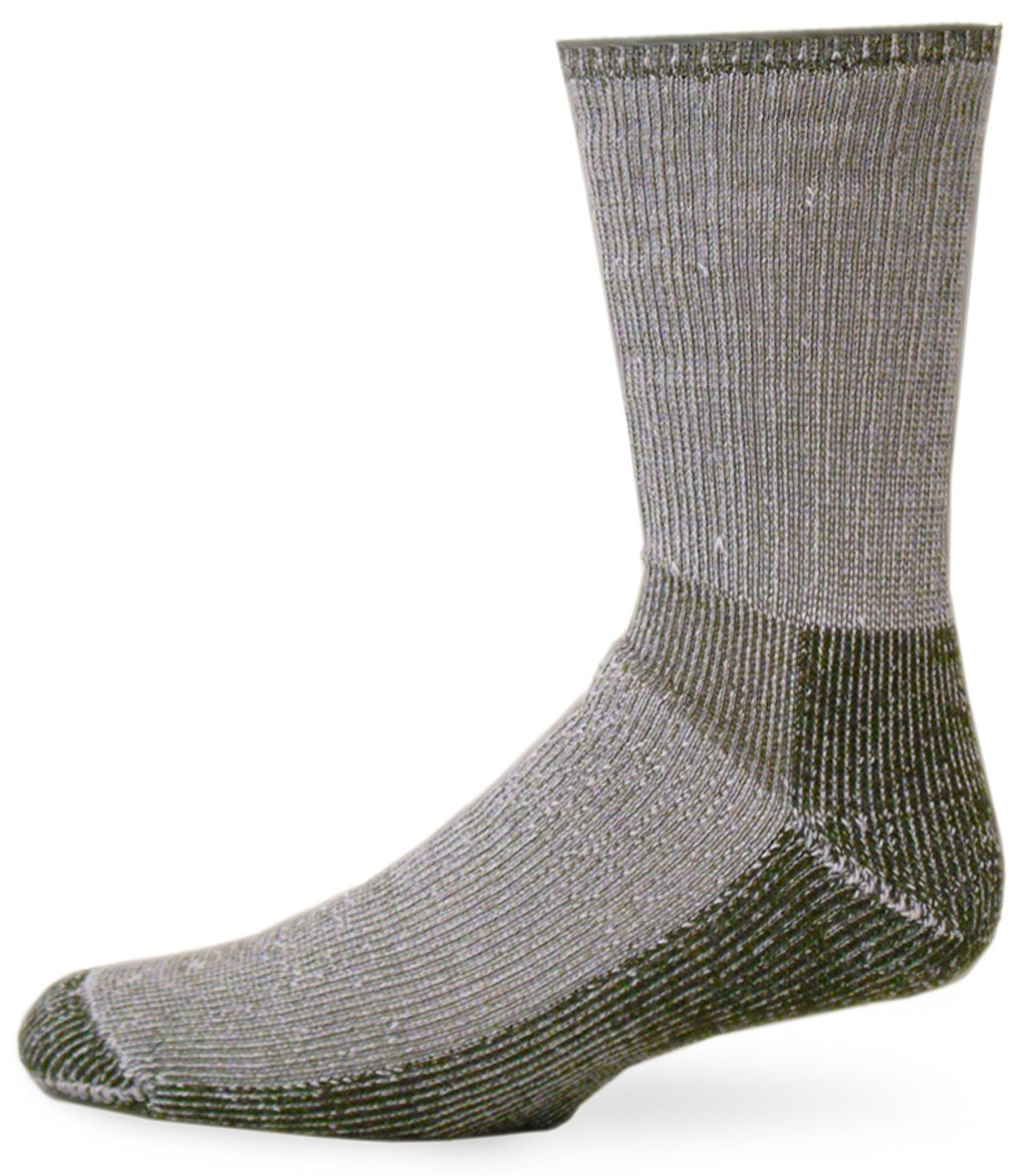 Smart Socks Merino Extreme Hiker Sock (Olive, Large) by Smart Socks