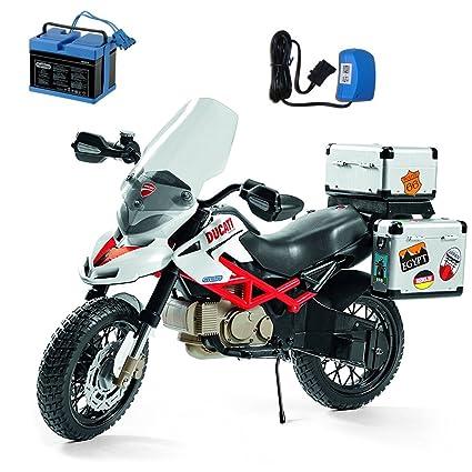 Amazon.com: Peg Perego Ducati Hypercross Ride On de moto con ...