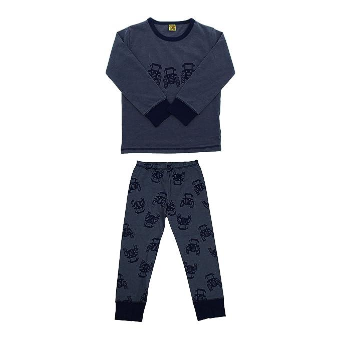 CeLaVi Pijama para niño, Camiseta de manga larga y pantalones largos, Edad 18-