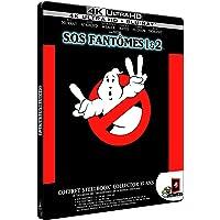 SOS Fantômes 1 & 2 [SteelBook Collector 35 ans - 2 4K Ultra HD + 2  bonus]