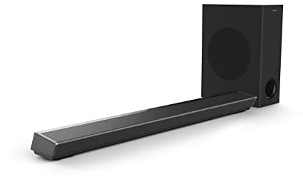 Philips Performance TAPB603 3.1 CH 320 W Dolby Atmos Soundbar with Wireless Subwoofer, Optical Input and HDMI ARC Soundbar Speakers