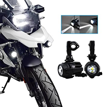 Lampe Drl Support Gs Phare Auxiliaire R1200 750 Moto Universal Led Avant Brouillard Feux Pour 40w 2 Avec Adv X Ip67 mN0nw8