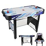 JumpStar 240V Childrens 3-In-1 Multi Games Table Air Hockey Football Basketball