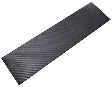 Durable 1 8 Thick Corrugated Rubber Runner Mat Roll 2 X 75 Black Amazon Com Industrial Scientific