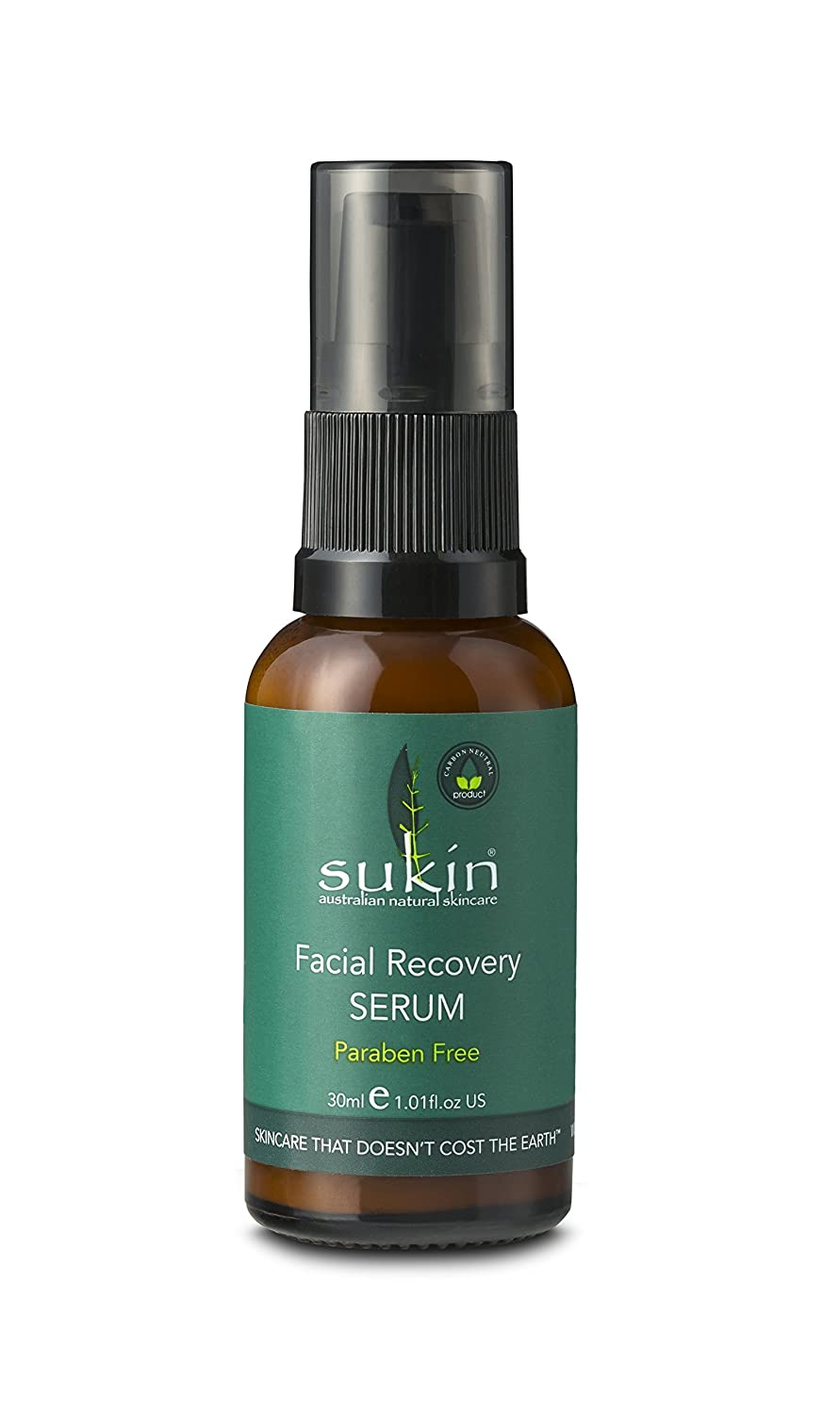 Sukin Super Greens Facial Recovery Serum 30ml/1.01oz SDEFO