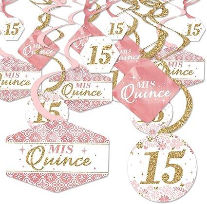 Amazon.com: Mis Quince Anos – Quinceanera dulce 15 ...