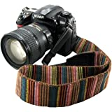 Eorefo CAI-Neck Strap Camera Strap Bohemia Shoulder Neck Universal Camcorder Belt Strap All DSLR Camera Nikon Canon Sony Olympus Samsung Pentax Fujifilm Colorful