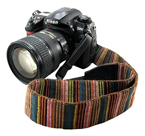 Review Eorefo cai-neck strap Camera Strap Bohemia Shoulder Neck Universal Camcorder Belt Strap for All DSLR Camera Nikon Canon Sony Olympus Samsung Pentax Fujifilm Colorful