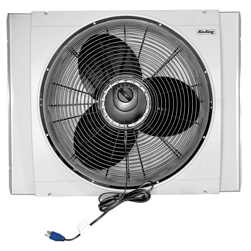 Air King 9166f 20 Whole House Window Fan Home Kitchen Power Max 400 Wiring Diagram Blower