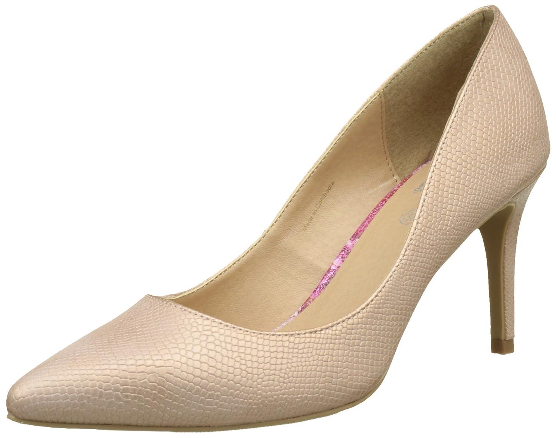 TALLA 40 EU. Initiale Oana, Zapatos de Tacón con Punta Cerrada para Mujer