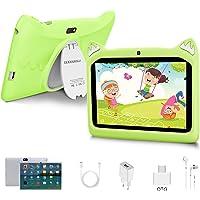 Tablet para Niños con WiFi 7 Pulgadas Android 10 Pie, 3GB RAM+32GB ROM/128GB y Juegos Educativos (Verde)
