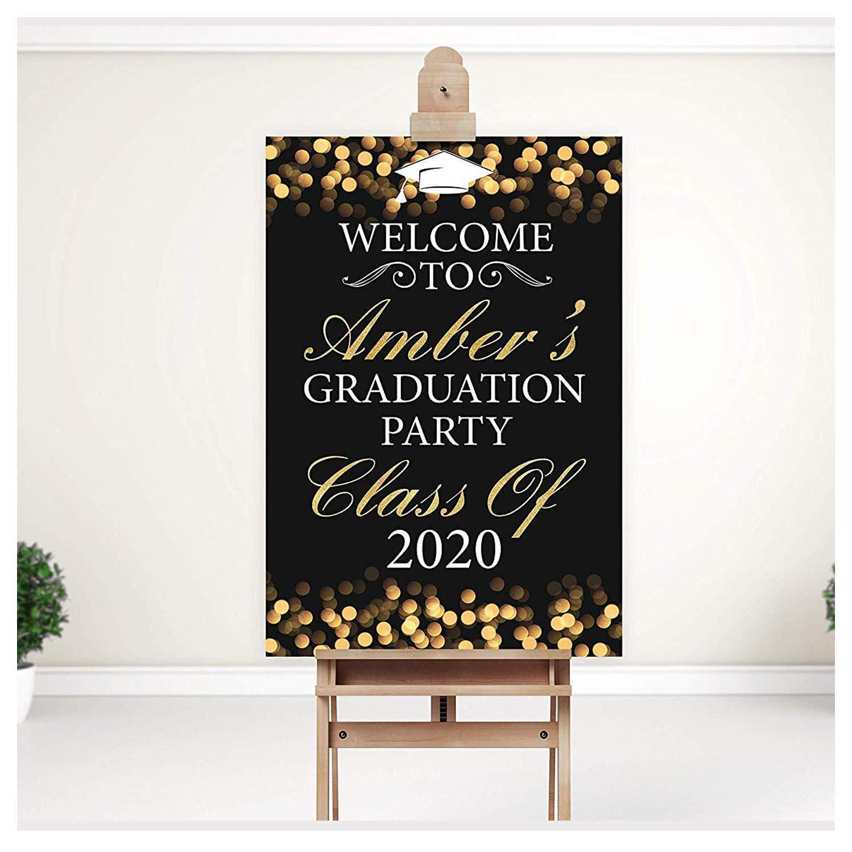 Graduation Party Banner-2021 Graduation Party Decorations-Customized Grad Party Banner-Graduation Decorations 2021-Graduation Party Ideas