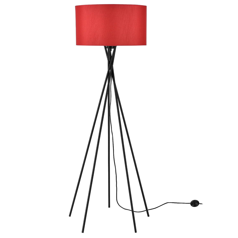 lux.pro] Stehleuchte - Red Mikado - (1 x E27 Sockel)(155 cm x Ø 48 ...
