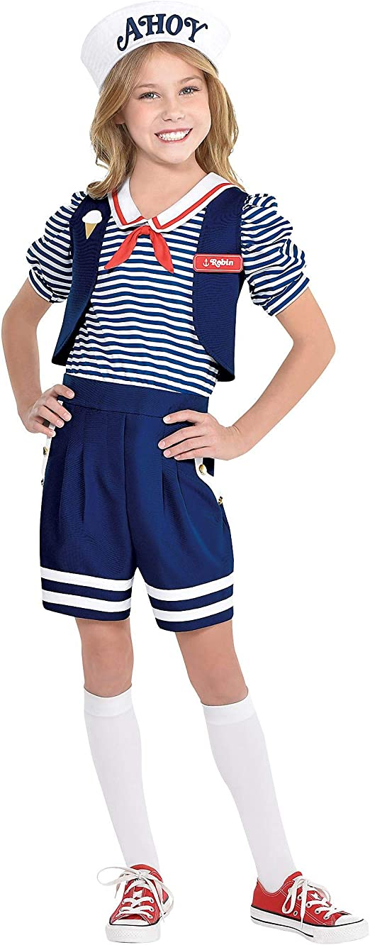 Party City Stranger Things disfraz de Robin Scoops Ahoy para niños ...