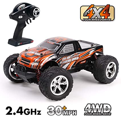 Toy Cars That You Can Drive >> Amazon Com Gilobaby Rc Trucks All Terrain 30 Mph High Speed 4wd