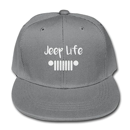 e0464618f6355 Amazon.com: Adjustable Boy&Girls The Jeep Life Kids Baseball Cap Solid  Color Hats: Clothing