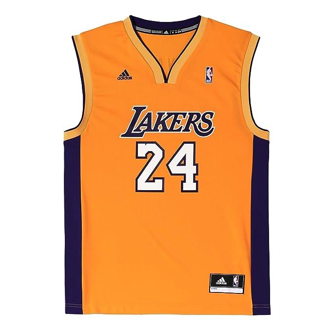adidas Los # Réplica de Balón de Camiseta de Fútbol Para Hombre Angeles Lakers Kobe Bryant
