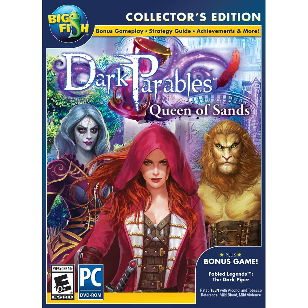 Amazon.com: Encore Software Big Fish Games Dark Parables 9: Queen of ...