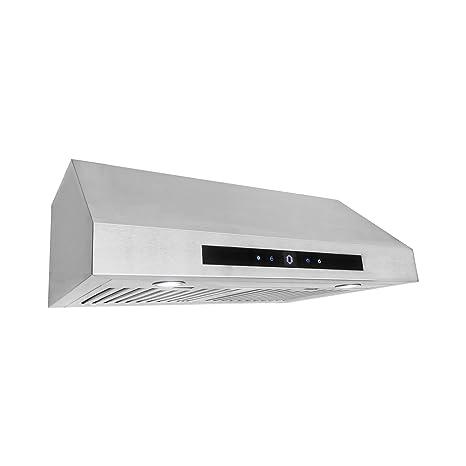Cosmo UMC30 Stainless Steel Under Cabinet Range Hood, 30u0026quot;