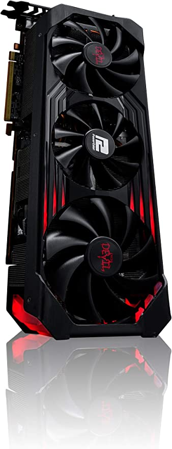 PCIe 4.0, 16GB GDDR6, HDMI 2.1, DisplayPort 1.4a, Axial-tech Fan Design, 2.9-Slot, Super Alloy Power II, GPU Tweak II ASUS ROG Strix AMD Radeon RX 6800 OC Edition Gaming Graphics Card