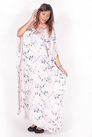 Vetement Femme Grande Taille Robe D Interieur Motif Rose Pale Amazon Fr Vetements Et Accessoires