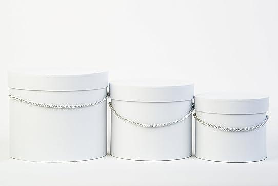 Lot De 3 Boîtes Cadeau Avec Cordon De Serrage, Personnalisable