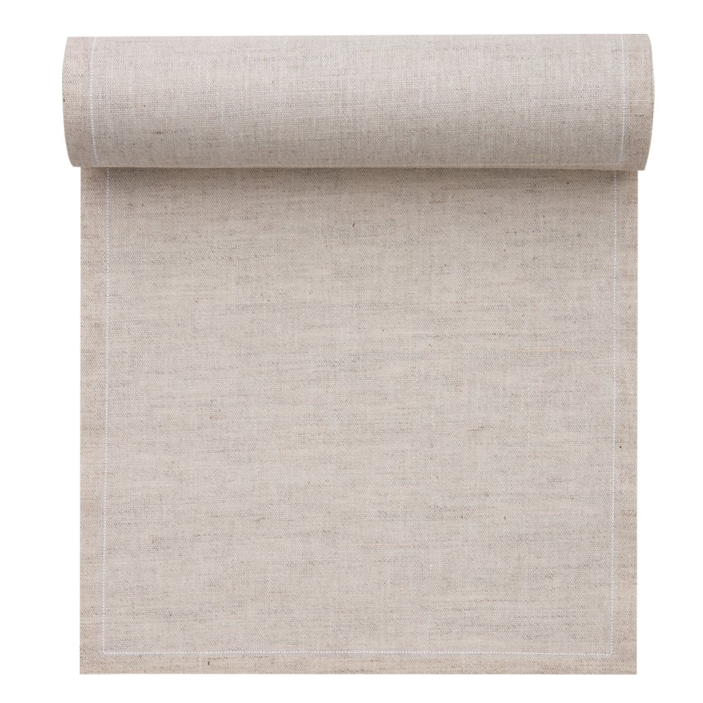 Linen Cocktail Napkin - 4.3 x 4.3 in - 50 units per roll - Natural