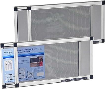 Zeep CDF01165 Zanzariera con Telaio Componibile Alluminio