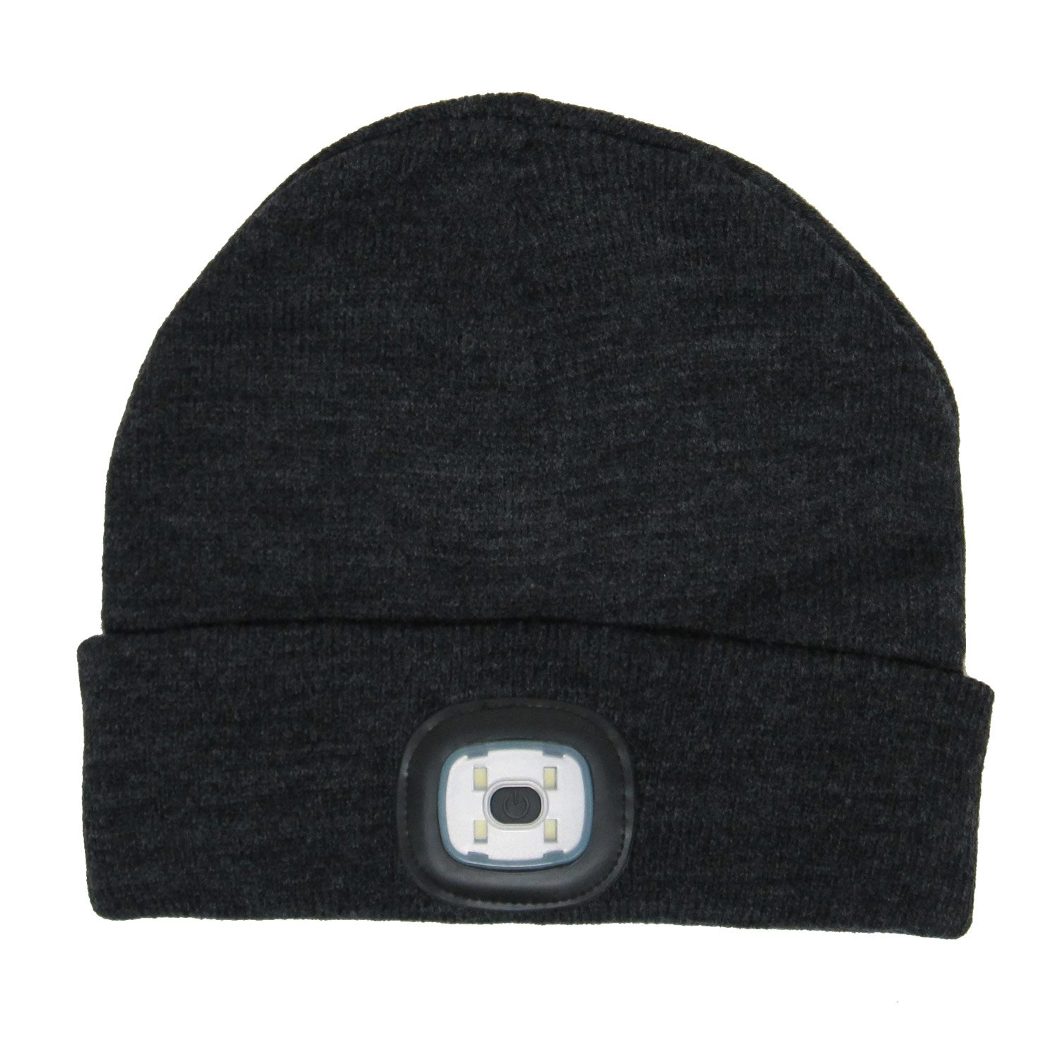 c88c6f9ac4b Amazon.com   BEAMie Hat With Built-In Rechargeable LED Head Lights ...
