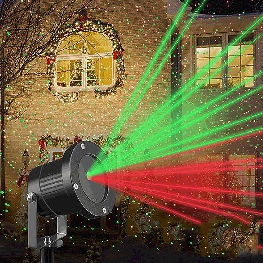SZ&LAM Proyector de la Navidad Luces de Holloween, Spot Estrellada ...