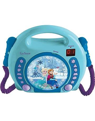 Disney Frozen - Lector CD Portátil con 2 Micros, a Partir de 3 años (