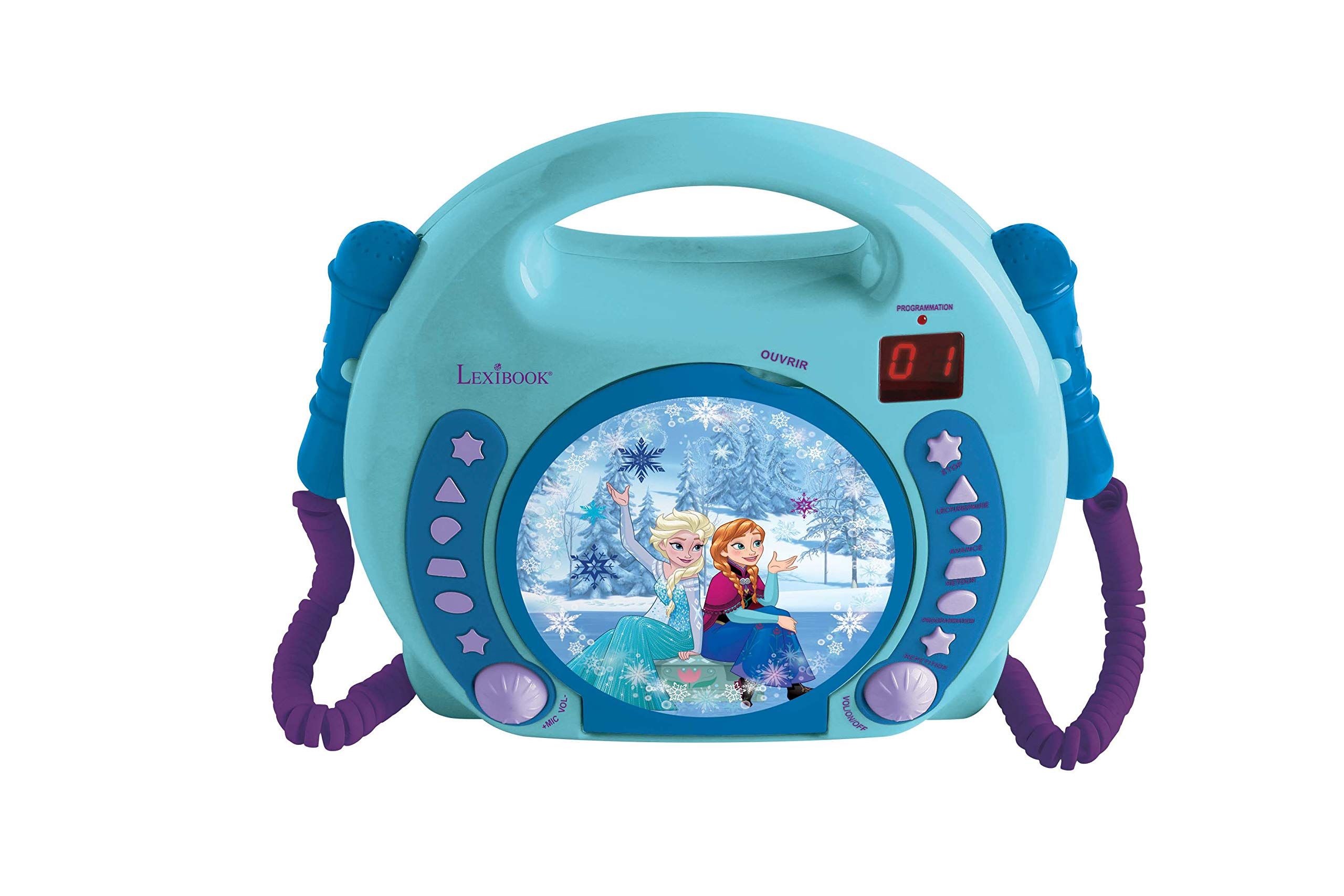 Disney Frozen CD Player with Microphones by Disney Frozen (Image #1)