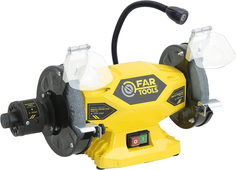 Fartools 110250 Esmeriladora 400 W Diámetro 150 mm Diámetro 2 150