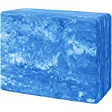 Yoga Blocks 9x6x3 Inches High Density EVA Foam Brick Provides Stability and Balance, Improve Strength and Deepen Poses - Perfect for Yoga, Pilates & Home Workout